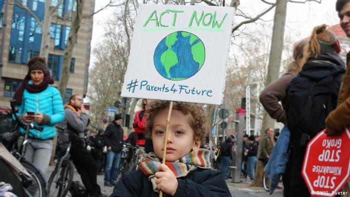 Köln bei Demonstrationen von Fridays for Future