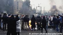 Iran | Proteste gegen den Anstieg der Benzinpreise