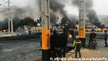 Iran   Proteste gegen den Anstieg der Benzinpreise