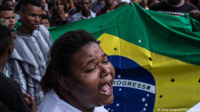 Brasilien Rassismus l Afro-Amerikaner (Getty Images/AFP/C. Simon)