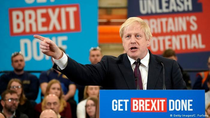 UK Wahlen l Wahlkampfveranstaltung bei der JCB Baufirma - Борис Ҷонсон (Getty Images / C. Furlong)