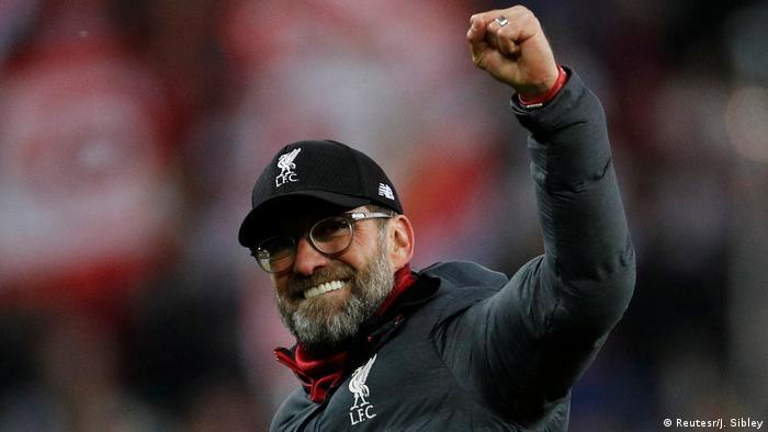Fussball Champions League l Red Bull Salzburg vs Liverpool l 0.2 Sieg - Jürgen Klopp