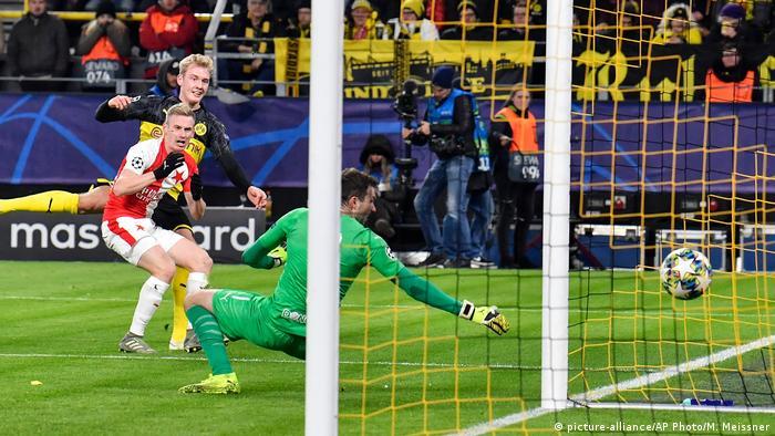 Dortmund gewinnt gegen Prag und ist im Achtelfinale