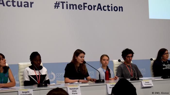 Madrid Klimakonferenz COP25 Greta Thunberg Luisa Neubauer