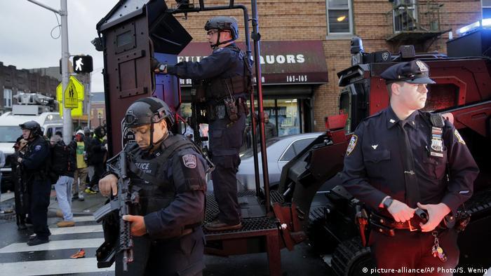 Sechs Tote nach Schießerei in New Jersey