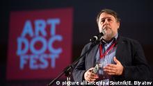 Russland Filmfestival l ArtDoc Fest in Moskau - Festivalleiter Vitaly Mansky