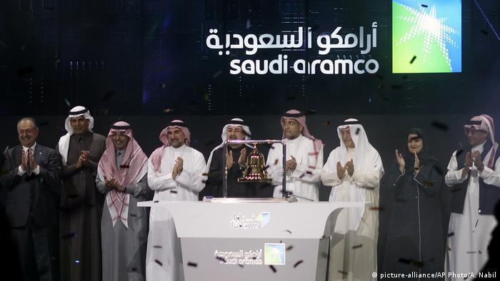 Saudi-Arabien Börsengang Aramco (picture-alliance/AP Photo/A. Nabil)