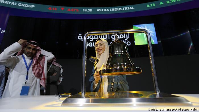 Debut en la Bolsa de la empresa árabe Aramco