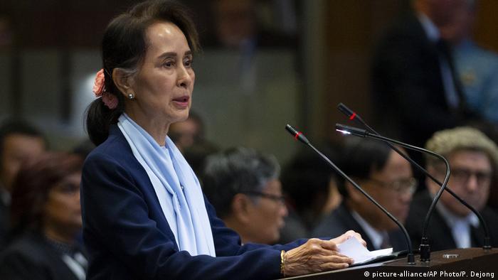 Niederlande Den Haag Aung San Suu Kyi vor dem Internationalen Gerichtshof
