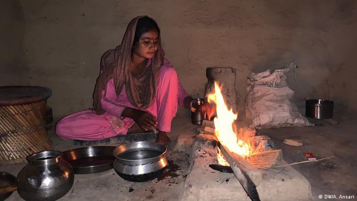 Indien Hindu Flüchtlinge aus Pakistan (DW/A. Ansari)