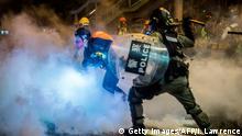 China Hongkong l Polizeigewalt - Expertenteam stellt seine Arbeit vorzeitig ein