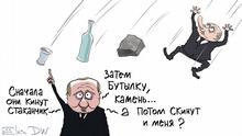 11.12.2019 Putins Aussage über Gewalt gegen Polizisten während Kundgebungen