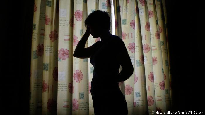 Silhouette von einer Person l Symbolbild