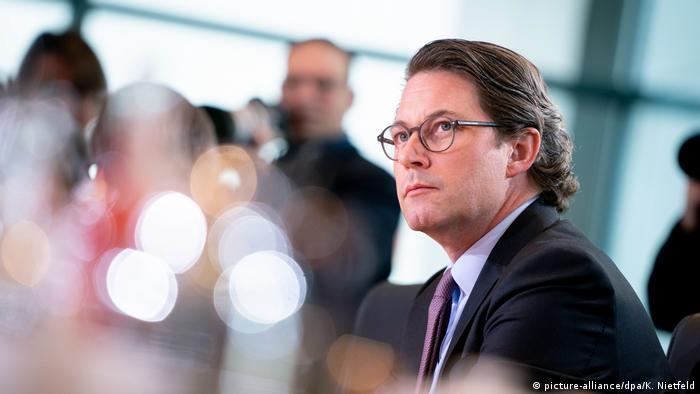 Berlin Verkehrsminister Andreas Scheuer