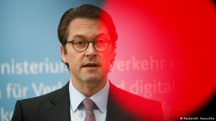 Transport Minister Andreas Scheuer