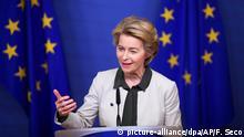 Belgien Brüssel | EU-Kommission und EU-Parlament zu dem «Green Deal» - Ursula von der Leyen