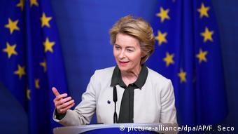Глава Еврокомиссии Урсула фон дер Ляйен провозглашает Green Deal