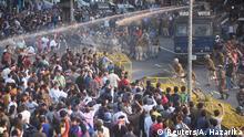 Indien l Protest gegen Einbürgerungsgesetz