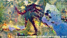 SPERRFRIST Vermutlich älteste Jagd-Malerei in Indonesien entdeckt
