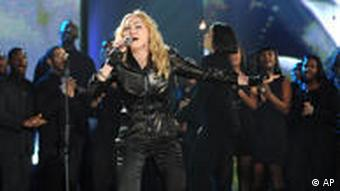 Madonna bei der Benefizgala 'Hope for Haiti Now' (Foto: AP)