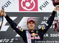 Sebastian Vettel, de Red Bull.