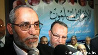 Mohammed Badie ist Führer der Muslimbrüder (Foto: DPA)
