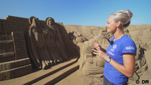 11.12.2019*** Sandskulptur