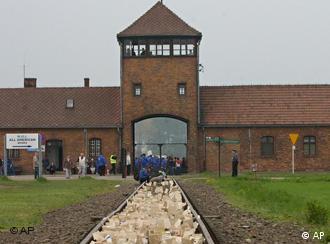H είσοδος του στρατοπέδου συγκέντρωσης του Άουσβιτς