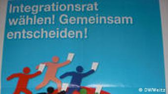 A flyer for the integration council