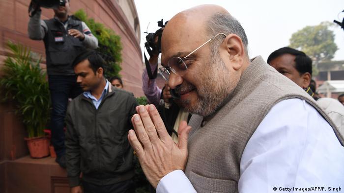 Indien Neu Delhi | Amit Shah am Parlament