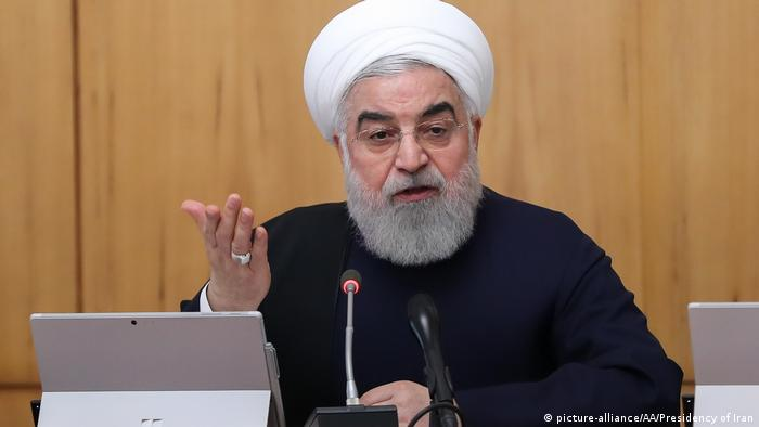 Iranian President Hassan Rouhani (picture-alliance/AA/Presidency of Iran)