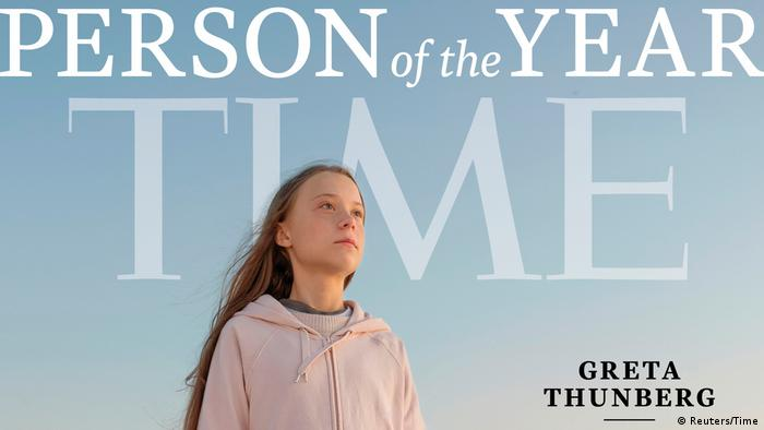 Greta Thunberg | Times zeichnet Aktivistin als Person des Jahres (Reuters/Time)