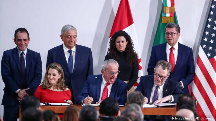 Potpisivanje sporazuma T-Mec 2019.