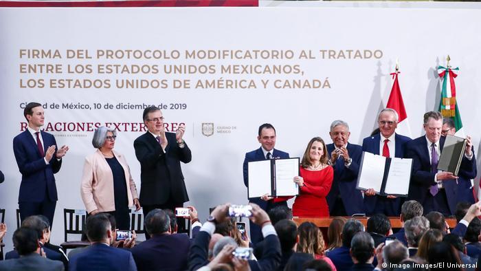 SAD, Kanada i Meksiko potpisali su u decembru 2019. sporazum T-Mec