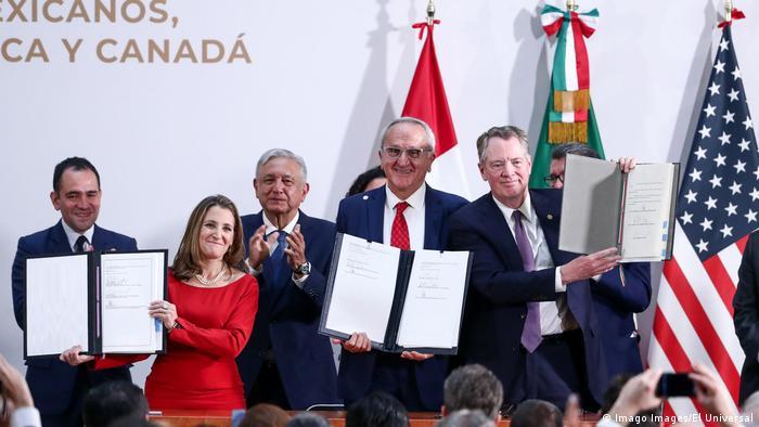 Mexiko | T-Mec Unterzeichnung
