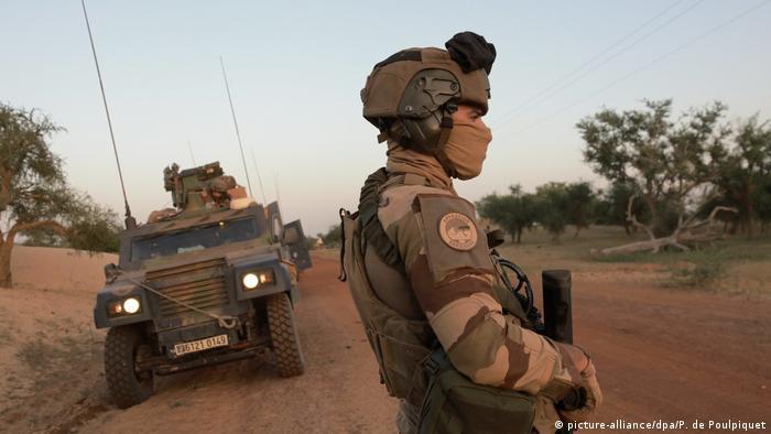 Foto de soldados franceses.
