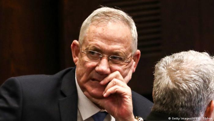بنی گانتس، رهبر حزب آبی و سفید اسرائیل