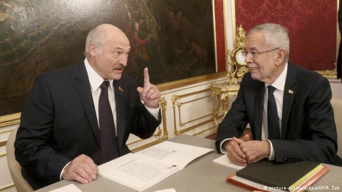 Österreich Weißrusslands Präsident Lukaschenko in Wien