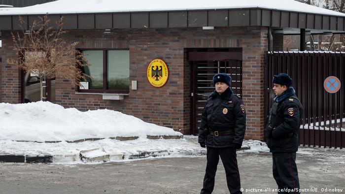 Russland Moskau Deutsche Botschaft