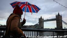 Großbritannien London Parlamentswahlen