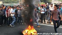 Indien l Protest gegen Einbürgerungsgesetz in Guwahati