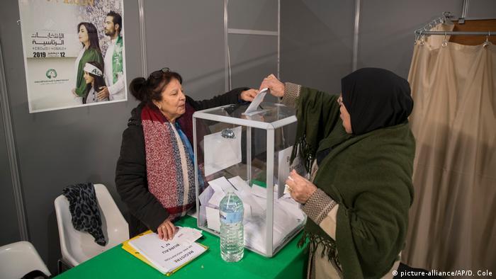 Algerien Präsidentschaftswahl