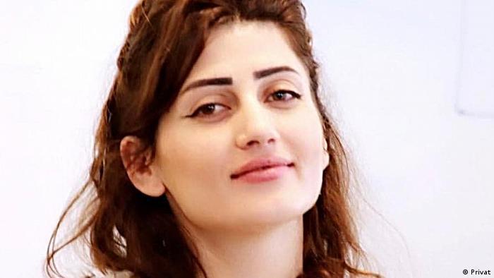 اللاجئة السورية كاجين دمرجان (25 عاماً)
