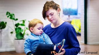 Сын Розанны Симсон, Данте, станет самым молодым жителем в SällBo