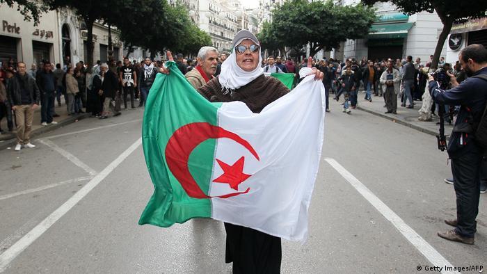 Algerien Algier Präsidentschaftswahl Proteste (Getty Images/AFP)