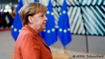 Меркель дедалі більше концентрується на європейські політиці
