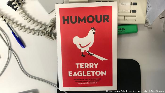 A book called Humour from Terry Eagleton (Foto: DW/Z. Abbany)