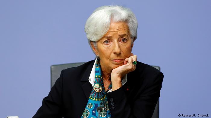 Deutschland   EZB-Pressekonferenz Christine Lagarde