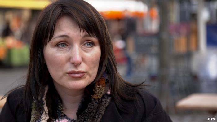 Олена Захаренко - донька вбитого опозиціонера Юрія Захаренка