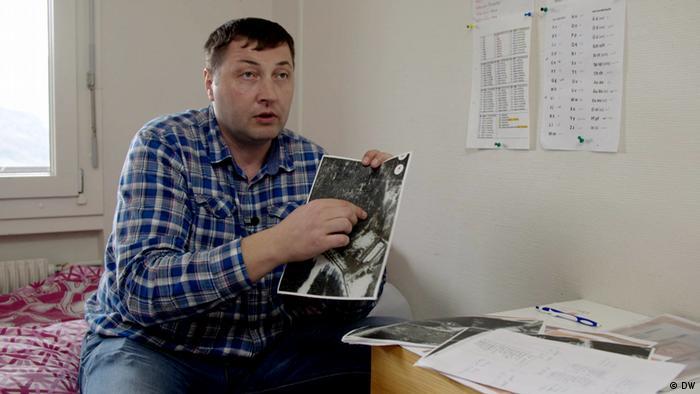 Yuri Garavski fears the long arm of the Belarusian security apparatus